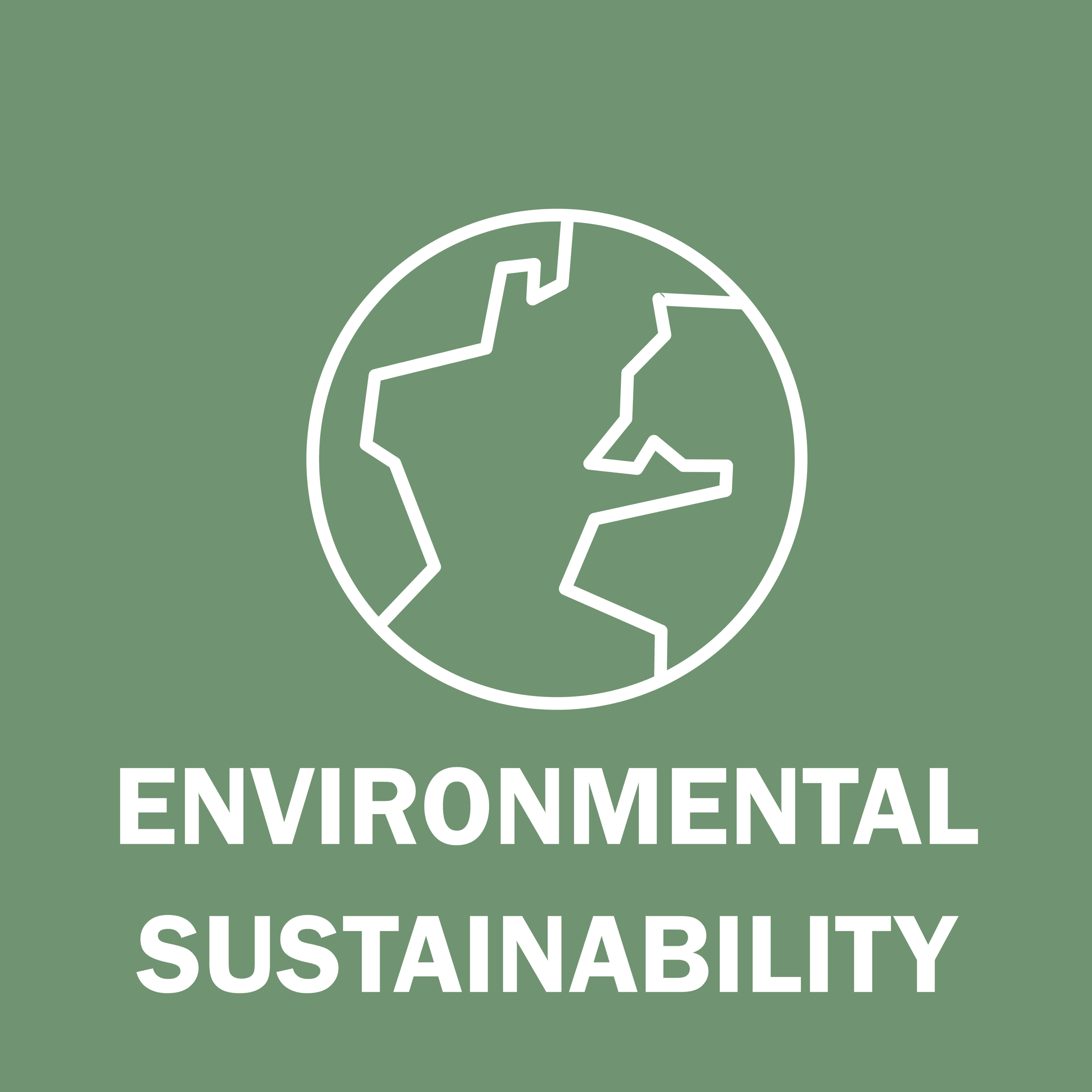 Environmental Sustainability Button