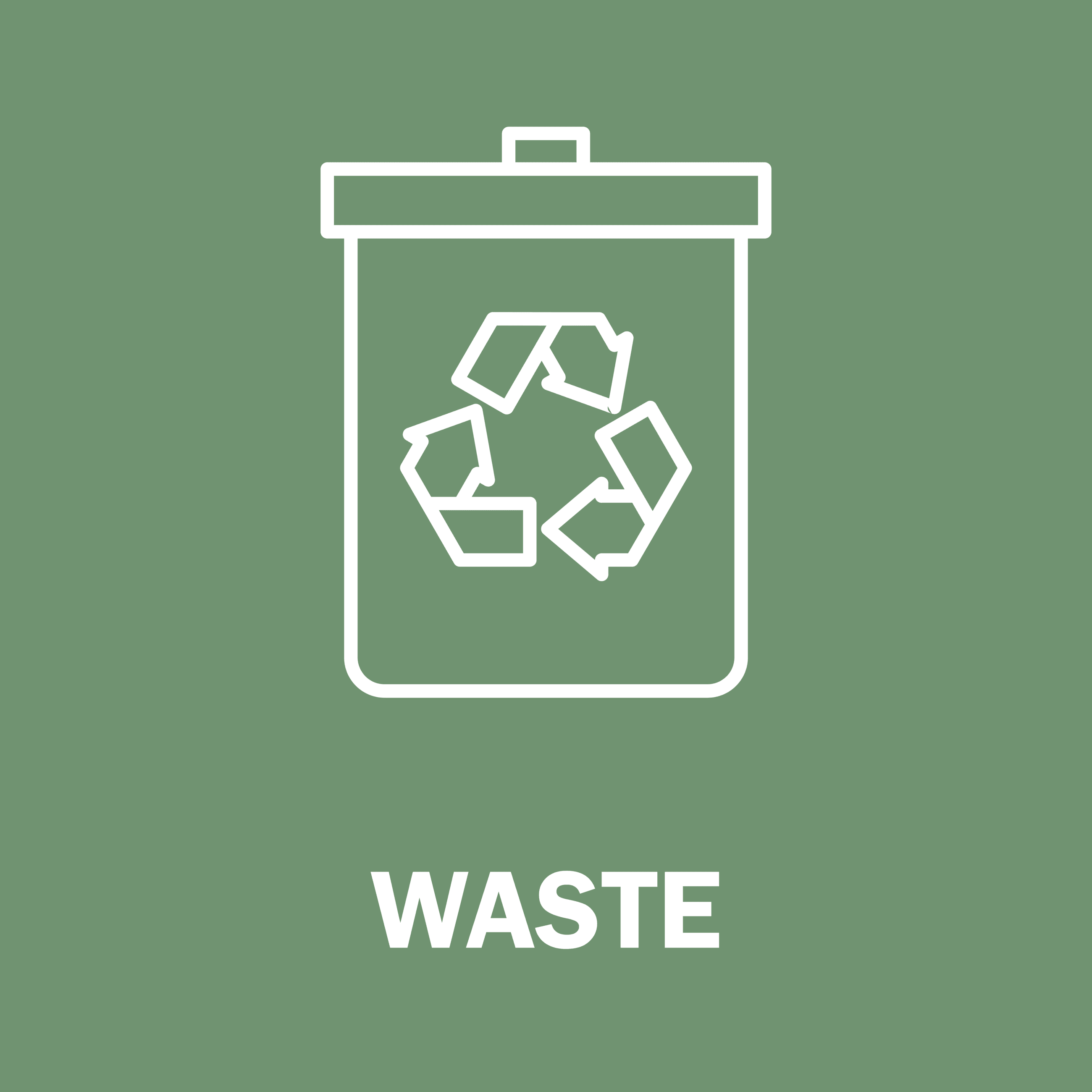 Sustainable Waste Button