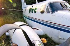 Air plane crash