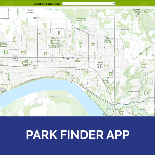 Park Finder Application