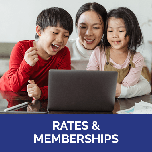 Rates & Memberships