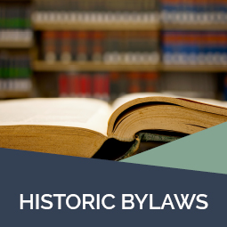 Historic bylaws