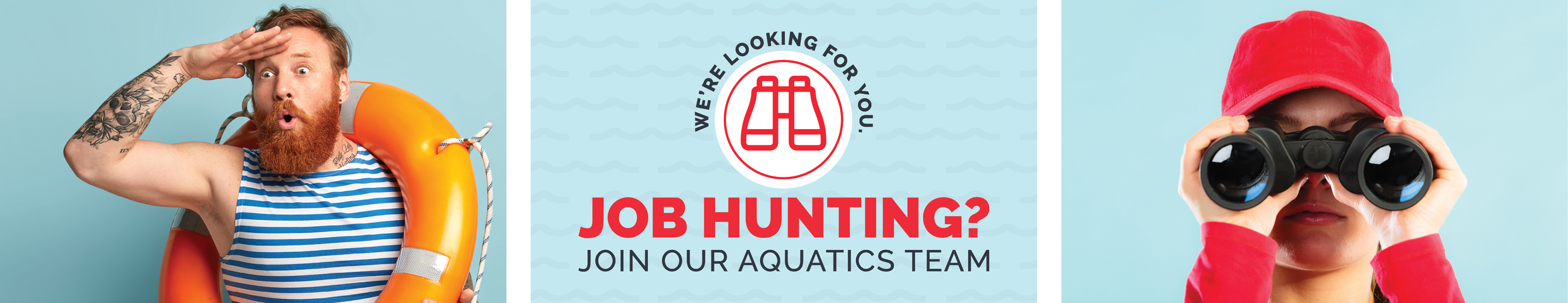 Join Our Aquatics Team header