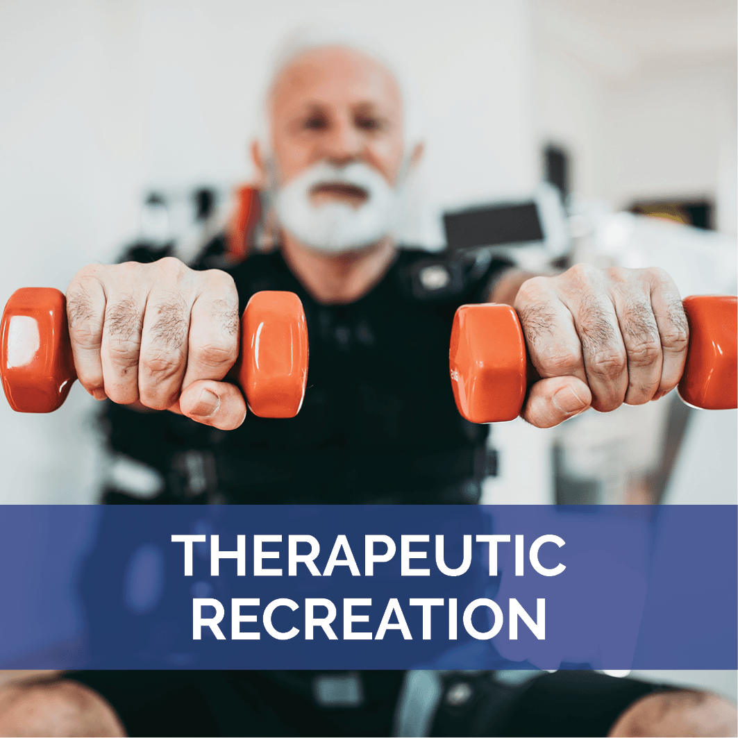 Therapeutic Recreation Landing Page