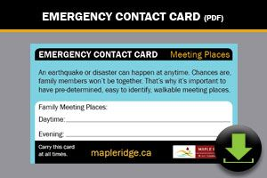Download: Emergency Contact Card