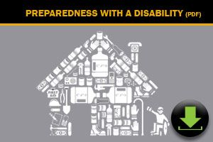Download: Preparedness for people with a disability