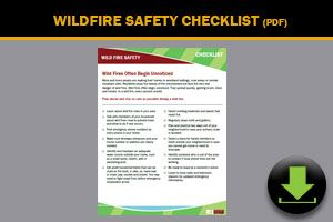 Wildfire Safety Checklist