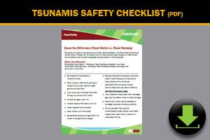 Download: Tsunami Safety Checklist
