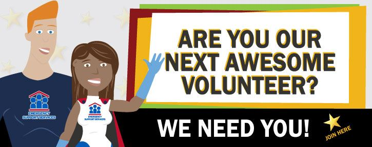 Volunteer with Us We Need You