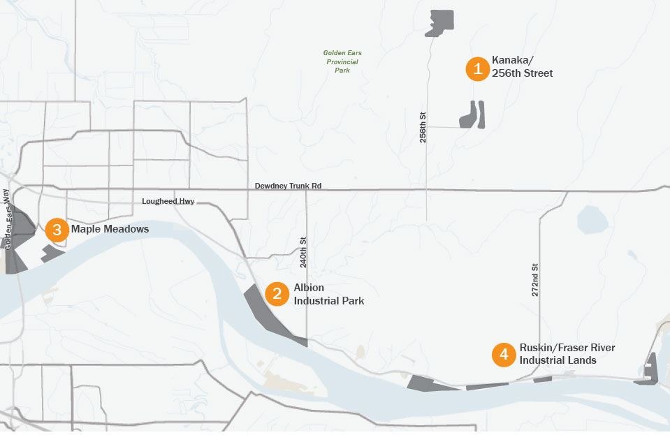 Maple Ridge Industrial Park Map